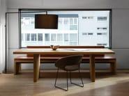 Tavolo da pranzo rettangolare in legno SC20 - Janua