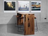 Rectangular wooden high table SC52 - Janua