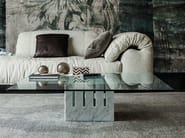 Square crystal coffee table SCACCO - Cattelan Italia