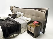 Double bed with tufted headboard SCALA - Rozzoni Mobili d'Arte