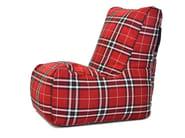 Upholstered bean bag SEAT SKIN HOME - Pusku pusku