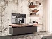 Low lacquered wooden TV cabinet SENECA - Cattelan Italia