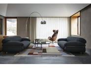 3 seater fabric sofa SESANN | Fabric sofa - Tacchini Italia Forniture