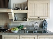 Linear ash kitchen with handles SETTECENTO - GD Arredamenti