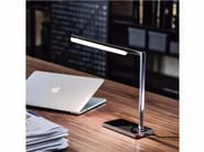 LED chrome plated steel table lamp SEVEN - Cattelan Italia