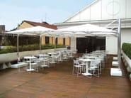 Offset square Garden umbrella SHADE 3X3 | Garden umbrella - EMU Group S.p.A.