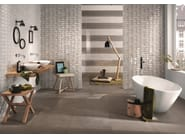 Indoor white-paste wall tiles SHINE Quarzo - Impronta Ceramiche by Italgraniti Group