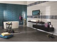 Indoor white-paste wall tiles SHINE Turchese - Impronta Ceramiche by Italgraniti Group