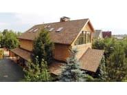 Bitumen roof shingle SHINGLAS - ITALIANA MEMBRANE -TECHNONICOL ITALIA