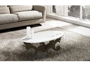 Oval coffee table for living room SI-289 | Coffee table - L.A.S.