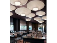 Polyester ceiling light SIAM - BOVER Il. Luminació & Mobiliario