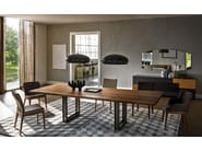 Rectangular wooden table SIGMA - Cattelan Italia