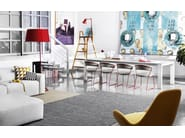Extending dining table SIGMA XL - Calligaris