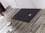 Anti-slip flush fitting custom Silexpol® shower tray SILEX EXTRAPIANO - Fiora