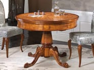 Round solid wood table SILVIA | Table - Arvestyle