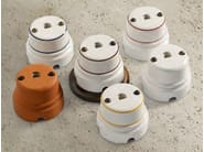 Single ceramic electrical outlet SIRIO | Telephone socket - Aldo Bernardi