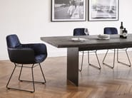 Rectangular wooden dining table SK04 - Janua