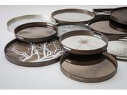 Round wooden tray SLICE   Round tray - Notre Monde