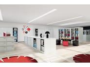 Mobile ufficio in metallo in stile classico con ante scorrevoli con serratura SLIDING DOOR CABINETS | Mobile ufficio con ante scorrevoli - Dieffebi