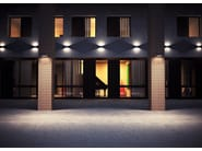 Direct light die cast aluminium wall lamp SLIM F.8254 - Francesconi & C.