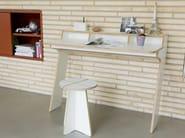 Wooden writing desk SLOPE | Writing desk - Müller Möbelwerkstätten