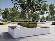 Bench with Integrated Planter SMART - Bellitalia