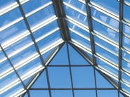 Continuous rooflight SMARTIA M10800 - Alumil