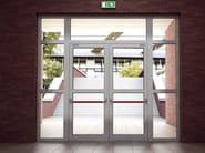 Porta d'ingresso resistente al fuoco SMARTIA M11500 FR - Alumil