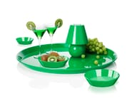 Round painted metal tray SNACKLIGHT - Fatboy Italia