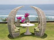 Igloo sectional garden sofa SOCHI | Modular sofa - SKYLINE design