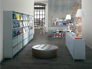Modular floor-standing retail display unit SOCRATE DISPLAY | Floor-standing retail display unit - Caimi Brevetti