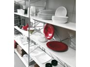 Sectional bookcase SOCRATE HOME | Bookcase - Caimi Brevetti