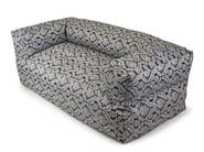 Upholstered 2 seater garden sofa SOFA MOOG DELUXE - Pusku pusku