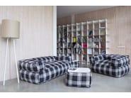 2 seater fabric garden sofa SOFA MOOG HOME - Pusku pusku