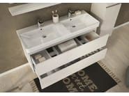 Wall-mounted vanity unit with drawers SOHO S15 - LEGNOBAGNO