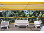 Garden armchair with armrests SOLID | Garden armchair - VONDOM