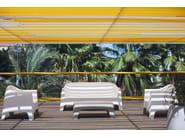 Low rectangular garden side table SOLID | Garden side table - VONDOM