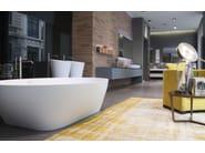 Oval Cristalplant® bathtub SOLIDEA | Bathtub - Antonio Lupi Design®
