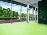 Ecological continuous flooring SPARKLING COLOUR - Vorwerk & Co. Teppichwerke