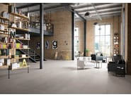 Full-body porcelain stoneware wall/floor tiles with resin effect SPATULA Perla - Italgraniti