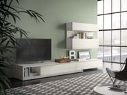 Sectional modular storage wall SPAZIO | MOD. S309 - PIANCA