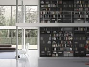 Libreria laccata modulare SPAZIOTECA SP018 - PIANCA