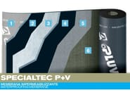 Prefabricated bituminous membrane SPECIALTEC P+V - PLUVITEC