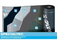 Prefabricated bituminous membrane SPECIALTEC - PLUVITEC