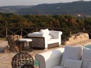 Garden armchair with armrests SPIDER | Garden armchair - Talenti