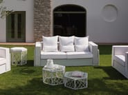 3 seater garden sofa SPIDER | Sofa - Talenti