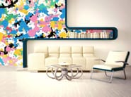 Pop art nonwoven wallpaper SPLASH - MyCollection.it