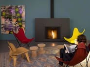 Wood-burning fireplace STÛV MICROMEGA | Wood-burning fireplace - Stûv