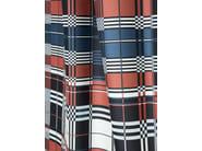Check jacquard upholstery fabric ST JEAN DE LUZ - LELIEVRE