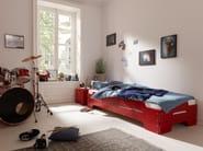 Stackable single bed STACKABLE BED - Müller Möbelwerkstätten